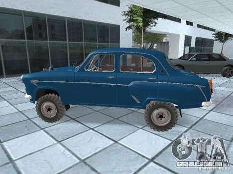 Moskvitch 410 4 x 4 para GTA San Andreas esquerda vista