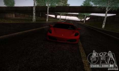 Ferrari F430 v2.0 para GTA San Andreas esquerda vista