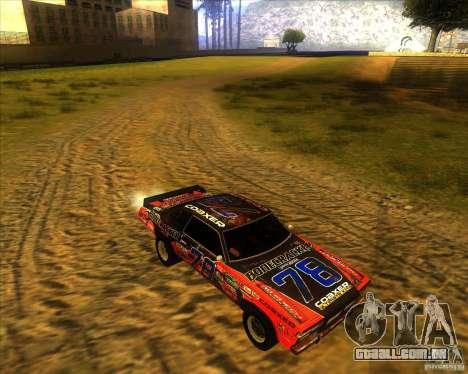 Bonecracker de FlatOut 1 para GTA San Andreas vista traseira
