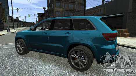 Jeep Grand Cherokee STR8 2012 para GTA 4 vista inferior