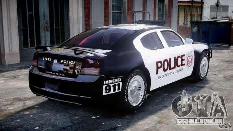 Dodge Charger SRT8 Police Cruiser para GTA 4 interior