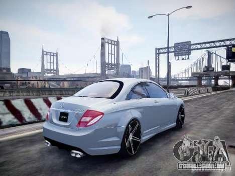 Mercedes-Benz CL65 AMG para GTA 4 esquerda vista