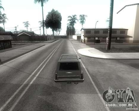 GTA SA - Black and White para GTA San Andreas sexta tela
