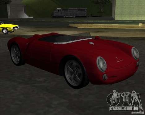 Porsche 550 para GTA San Andreas