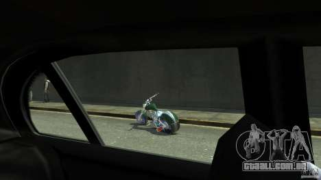HellFire Chopper para GTA 4 vista de volta