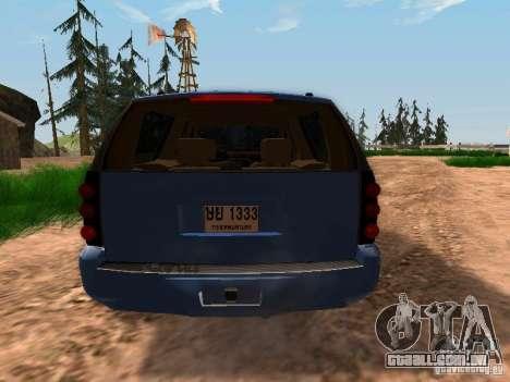 GMC Yukon Denali XL para GTA San Andreas vista direita