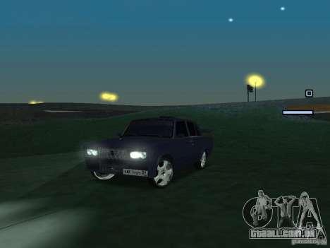 Rei do Drift 2105 VAZ para GTA San Andreas esquerda vista