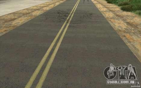 Uma aldeia nova Dillimur para GTA San Andreas segunda tela