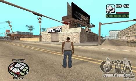 BBS PaynSpray para GTA San Andreas