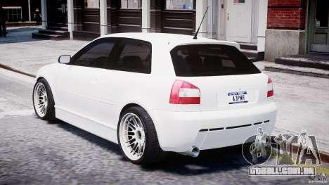 Audi A3 Tuning para GTA 4 vista direita