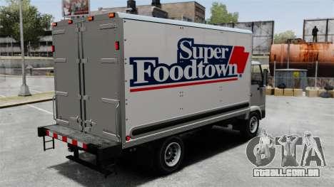 Novos anúncios para o caminhão, mula para GTA 4 esquerda vista