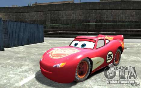 Lighting McQueen para GTA 4
