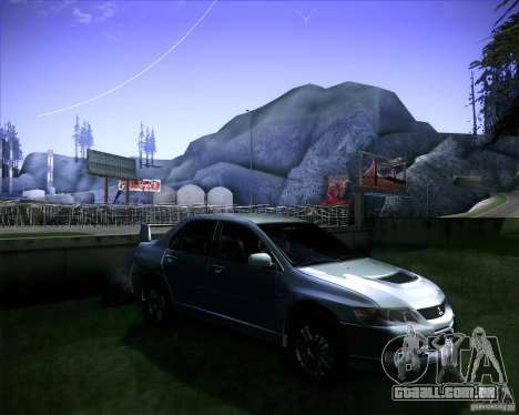 Mitsubishi Lancer Evolution VIII MR para GTA San Andreas vista direita