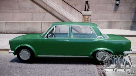 Fiat 125p Polski 1970 para GTA 4 traseira esquerda vista