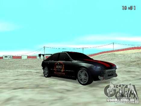 Toyota Altezza NKS Drift para GTA San Andreas vista direita