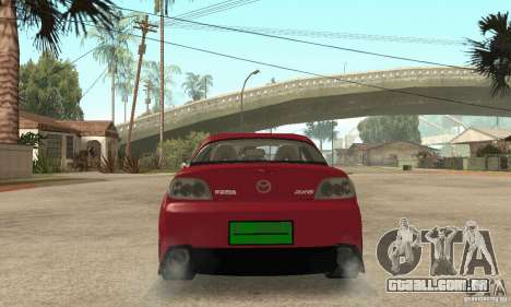 Ligar o motor e os faróis e para GTA San Andreas terceira tela