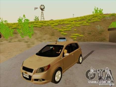 Chevrolet Aveo LT para GTA San Andreas
