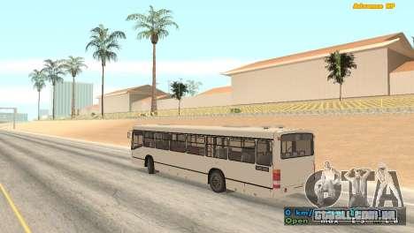 Mercedes-Benz Turk O345 para GTA San Andreas esquerda vista