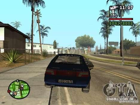 VAZ 21124 Coupe para GTA San Andreas esquerda vista