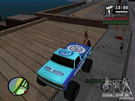 Um monstro no estilo do FC ZENIT para GTA San Andreas