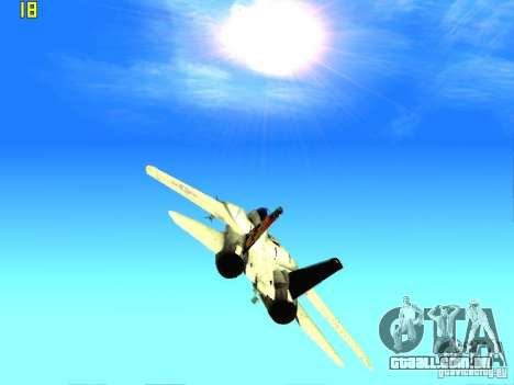 O novo gráfico por jeka_raper para GTA San Andreas sexta tela