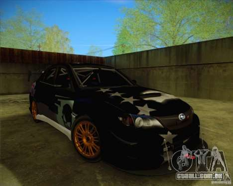 Subaru Impreza WRX STI 2011 para as rodas de GTA San Andreas