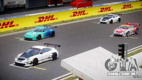 Porsche GT3 RSR 2008 para GTA 4 vista superior