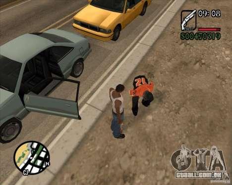Endorphin Mod v.3 para GTA San Andreas sexta tela