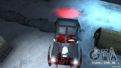 Apocalyptic Mustang Concept (Beta) para GTA 4 esquerda vista