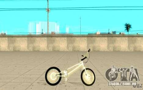 Trail Bike Chrome para GTA San Andreas esquerda vista