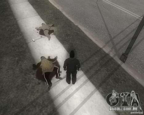 GTA SA - Black and White para GTA San Andreas segunda tela