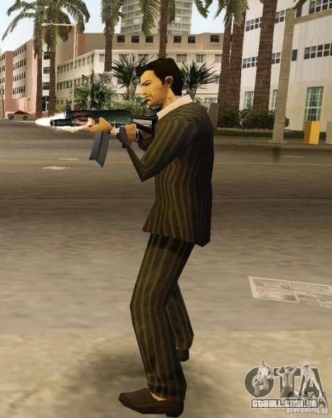 AK-74y para GTA Vice City por diante tela