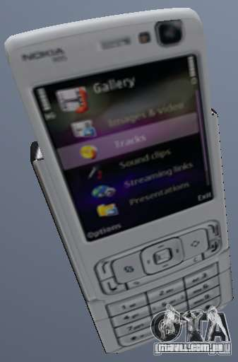 Nokia N95 Mobile para GTA San Andreas