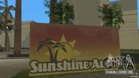 Sunshine Stunt Set para GTA Vice City segunda tela