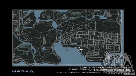 HUD by Neo40131 para GTA San Andreas por diante tela