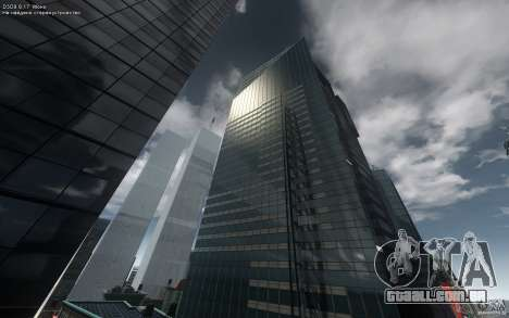 Telas de menu e inicialização de Liberty City em para GTA San Andreas terceira tela