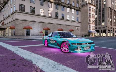 Nissan Silvia S13 Drift Works para GTA 4