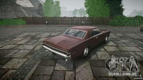 Pontiac GTO 1965 para GTA 4 motor