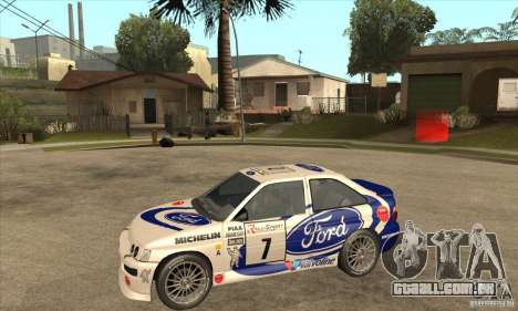 Ford Escort RS Cosworth para GTA San Andreas