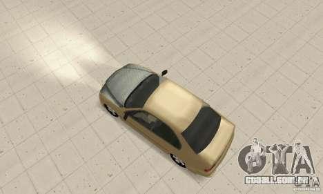 Bmw 528i para GTA San Andreas vista direita