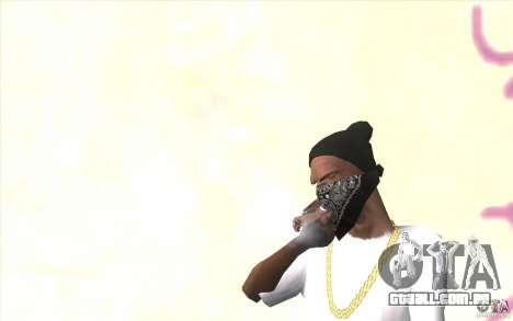 V2 sem dedos para GTA San Andreas segunda tela