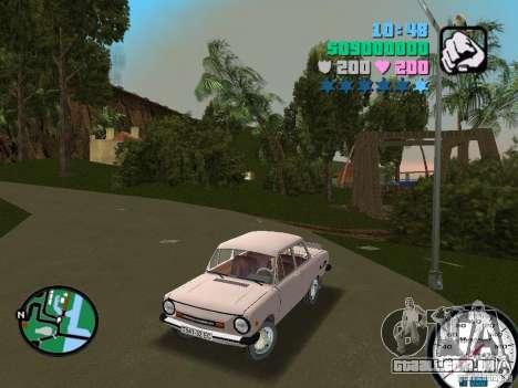 ZAZ 968 para GTA Vice City