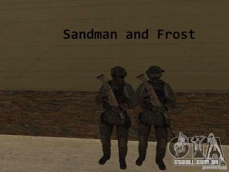 Frost and Sandman para GTA San Andreas