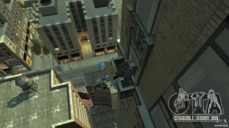 Zombie Bike Paintjob para GTA 4 vista de volta