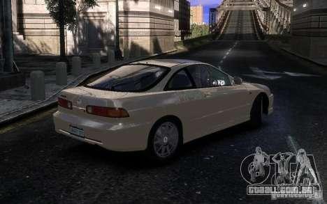 Honda Integra Type R para GTA 4 vista direita