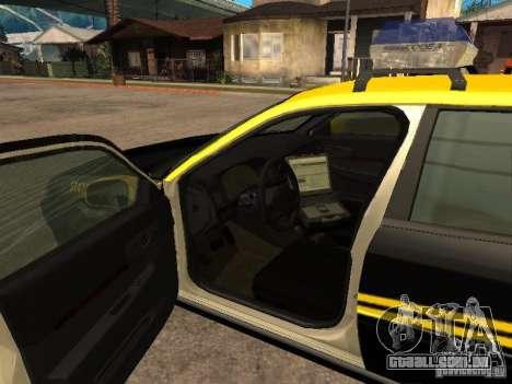 Chevrolet Impala Police 2003 para GTA San Andreas traseira esquerda vista