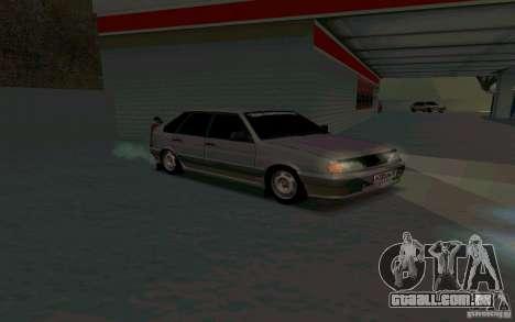 Ваз 2114 russo para GTA San Andreas traseira esquerda vista