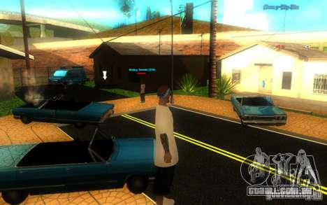 Novas texturas de El Corona para GTA San Andreas por diante tela