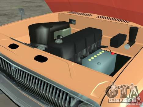 GAZ-24 Volga AEROFLOT 02 para GTA San Andreas vista interior