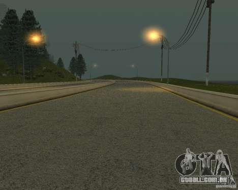 Novas estradas em San Fierro para GTA San Andreas nono tela